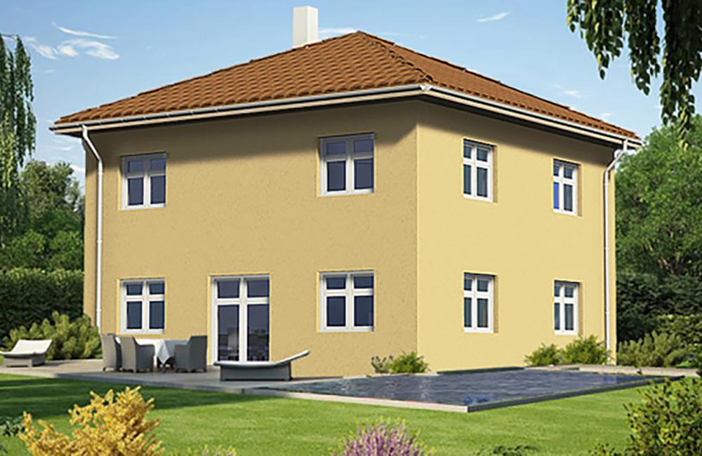walmdach bella haus aus ochsenhausen beratung planung bauen. Black Bedroom Furniture Sets. Home Design Ideas
